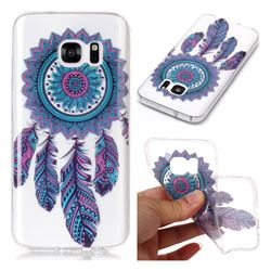 Blue Wind Chimes Super Clear Soft TPU Back Cover for Samsung Galaxy S7 G930