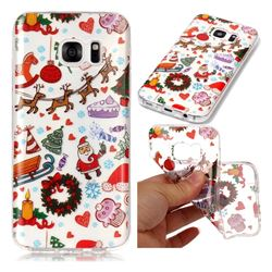 Christmas Playground Super Clear Soft TPU Back Cover for Samsung Galaxy S7 G930
