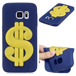US Dollars Soft 3D Silicone Case for Samsung Galaxy S7 G930