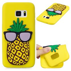 Pineapple Soft 3D Silicone Case for Samsung Galaxy S7 G930
