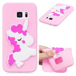 Pony Soft 3D Silicone Case for Samsung Galaxy S7 G930