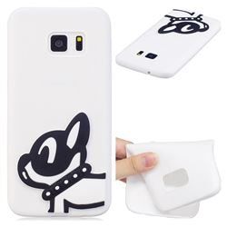 Cute Dog Soft 3D Silicone Case for Samsung Galaxy S7 G930