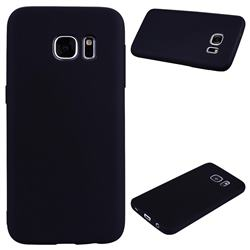 Candy Soft Silicone Protective Phone Case for Samsung Galaxy S7 G930 - Black