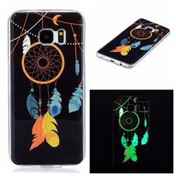 Dream Catcher Noctilucent Soft TPU Back Cover for Samsung Galaxy S7 Edge