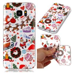 Christmas Playground Super Clear Soft TPU Back Cover for Samsung Galaxy S7 Edge s7edge