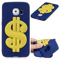 US Dollars Soft 3D Silicone Case for Samsung Galaxy S7 Edge s7edge
