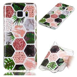 Rainforest Soft TPU Marble Pattern Phone Case for Samsung Galaxy S7 Edge s7edge