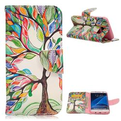 The Tree of Life Leather Wallet Case for Samsung Galaxy S7 Edge G935