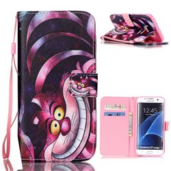 Monster Leather Wallet Case for Samsung Galaxy S7 Edge G935