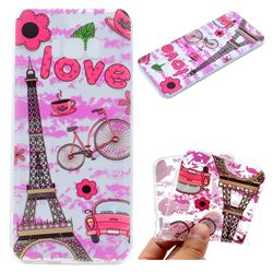 Love Eiffel Tower Super Clear Soft TPU Back Cover for Samsung Galaxy S8