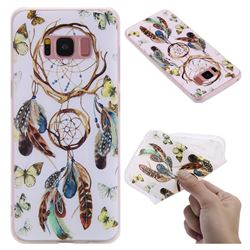 Color Wind Chimes 3D Relief Matte Soft TPU Back Cover for Samsung Galaxy S8
