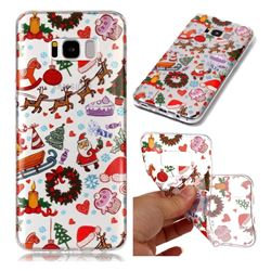 Christmas Playground Super Clear Soft TPU Back Cover for Samsung Galaxy S8