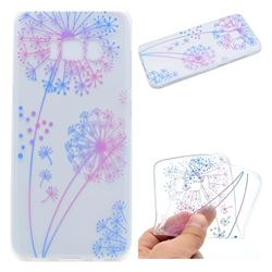 Rainbow Dandelion Super Clear Soft TPU Back Cover for Samsung Galaxy S8