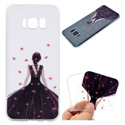 Wedding Girl Super Clear Soft TPU Back Cover for Samsung Galaxy S8