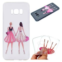 Maiden Honey Super Clear Soft TPU Back Cover for Samsung Galaxy S8