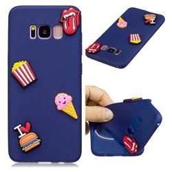 I Love Hamburger Soft 3D Silicone Case for Samsung Galaxy S8