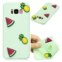 Watermelon Pineapple Soft 3D Silicone Case for Samsung Galaxy S8