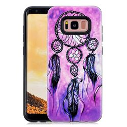 Starry Wind Chimes Pattern 2 in 1 PC + TPU Glossy Embossed Back Cover for Samsung Galaxy S8