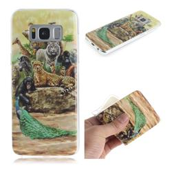 Beast Zoo IMD Soft TPU Cell Phone Back Cover for Samsung Galaxy S8