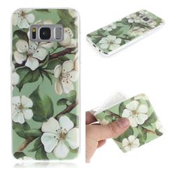 Watercolor Flower IMD Soft TPU Cell Phone Back Cover for Samsung Galaxy S8