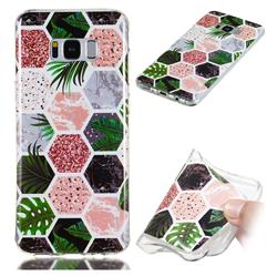 Rainforest Soft TPU Marble Pattern Phone Case for Samsung Galaxy S8