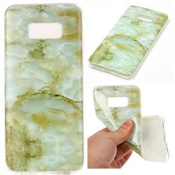 Jade Green Soft TPU Marble Pattern Case for Samsung Galaxy S8 Plus S8+
