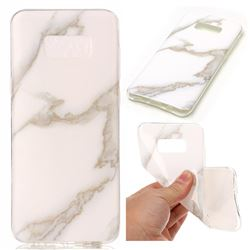 Jade White Soft TPU Marble Pattern Case for Samsung Galaxy S8 Plus S8+