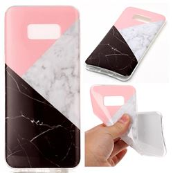 Tricolor Soft TPU Marble Pattern Case for Samsung Galaxy S8 Plus S8+