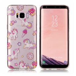 Unicorn Super Clear Soft TPU Back Cover for Samsung Galaxy S8 Plus S8+