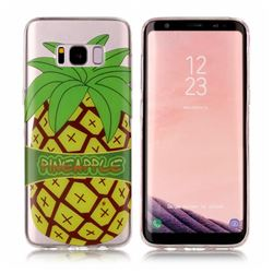 Big Pineapple Super Clear Soft TPU Back Cover for Samsung Galaxy S8 Plus S8+