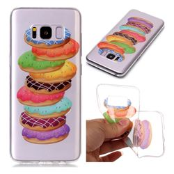 Melaleuca Donuts Super Clear Soft TPU Back Cover for Samsung Galaxy S8 Plus S8+