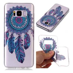 Blue Wind Chimes Super Clear Soft TPU Back Cover for Samsung Galaxy S8 Plus S8+