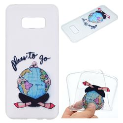 Global Travel Super Clear Soft TPU Back Cover for Samsung Galaxy S8 Plus S8+