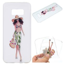 Bikini Girl Super Clear Soft TPU Back Cover for Samsung Galaxy S8 Plus S8+