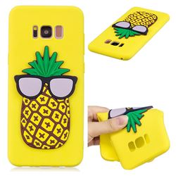 Pineapple Soft 3D Silicone Case for Samsung Galaxy S8 Plus S8+