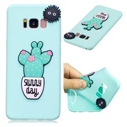 Cactus Flower Soft 3D Silicone Case for Samsung Galaxy S8 Plus S8+