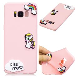 Kiss me Pony Soft 3D Silicone Case for Samsung Galaxy S8 Plus S8+