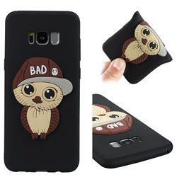 Bad Boy Owl Soft 3D Silicone Case for Samsung Galaxy S8 Plus S8+ - Black