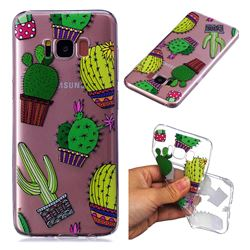 Cactus Ball Super Clear Soft TPU Back Cover for Samsung Galaxy S8 Plus S8+