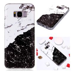 Black and White Soft TPU Marble Pattern Phone Case for Samsung Galaxy S8 Plus S8+