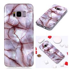 Earth Soft TPU Marble Pattern Phone Case for Samsung Galaxy S8 Plus S8+