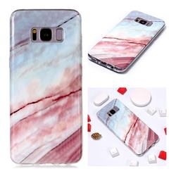 Elegant Soft TPU Marble Pattern Phone Case for Samsung Galaxy S8 Plus S8+