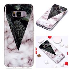 Leaf Soft TPU Marble Pattern Phone Case for Samsung Galaxy S8 Plus S8+