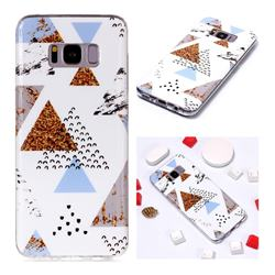 Hill Soft TPU Marble Pattern Phone Case for Samsung Galaxy S8 Plus S8+