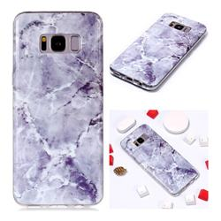 Light Gray Soft TPU Marble Pattern Phone Case for Samsung Galaxy S8 Plus S8+
