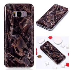 Brown Soft TPU Marble Pattern Phone Case for Samsung Galaxy S8 Plus S8+