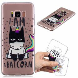 Batman Clear Varnish Soft Phone Back Cover for Samsung Galaxy S8 Plus S8+