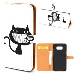 Proud Cat Leather Wallet Case for Samsung Galaxy S8+ S8 Plus