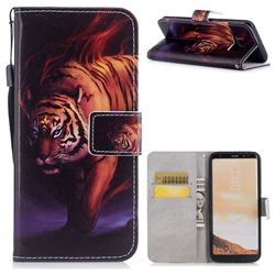 Mighty Tiger PU Leather Wallet Case for Samsung Galaxy S8 Plus S8+