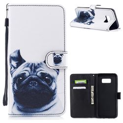 French Bulldog PU Leather Wallet Case for Samsung Galaxy S8 Plus S8+